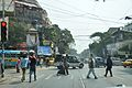 Mahatma Gandhi Road - Amharst Street Crossing - Kolkata 2015-02-09 2282.JPG