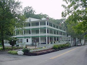 National Register of Historic Places listings in Hampshire County, West Virginia - Image: Main House Capon Springs WV 2004