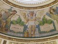Main Reading Room. Detail of Blashfield's mural in dome collar showing Egypt's contribution of Written Records. Library of Congress Thomas Jefferson Building, Washington, D.C. LCCN2007684372.tif