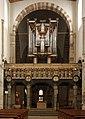Main altar and organ - St. Maria im Kapitol - Cologne - Germany 2017.jpg