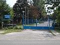 Main entrance, Central Storage Base of the National Disaster Management, 2016 Rákoshegy.jpg
