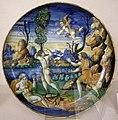 Maiolica di urbino, sforza di marcantonio, apollo e dafne, 1545.jpg