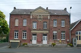The town hall in Ramousies