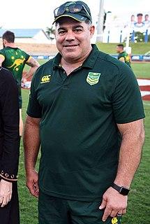 Mal Meninga Australian rugby league footballer and coach for Australia