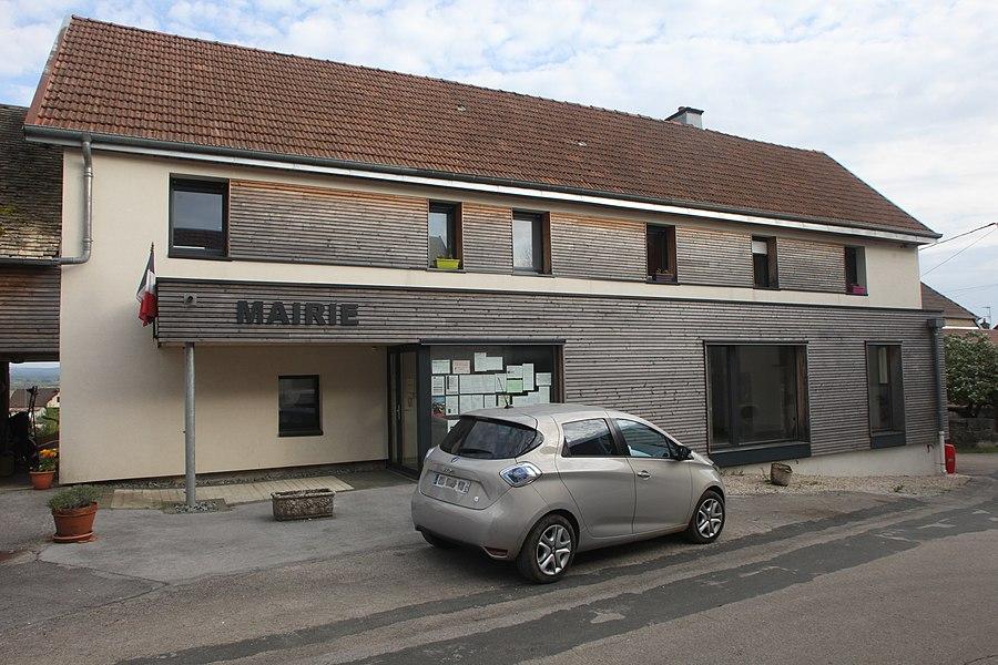 Mairie de Malbrans (Doubs).
