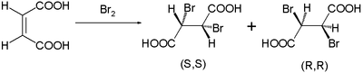 Bromination of maleic acid