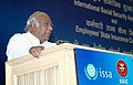 Mallikarjun Kharge addressing at the inauguration of the International Social Security Association (ISSA), Sub Regional Liaison Office for South Asia in New Delhi on June 22, 2009.jpg
