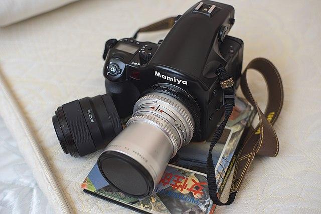 For sale: mamiya 645 afd ii medium format camera w/ lenses, extra.