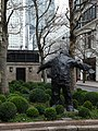 Man With Open Arms by Giles Penny, West India Avenue in March 2011 01.jpg