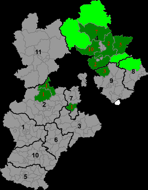 Manchu autonomous regions in Hebei