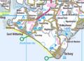 Manhood Peninsula OS map.png