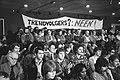 Manifestatie van stakers van het GAK en het Sociaal Fonds Bouwnijverheid in Amst, Bestanddeelnr 932-4399.jpg