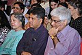 Manish Tewari alongwith the Director, PGIMER, Prof. Yogesh Chawla and his mother Dr. Amrit Tewari, at the PGI's Golden Jubilee celebrations, in Chandigarh on July 07, 2013.jpg