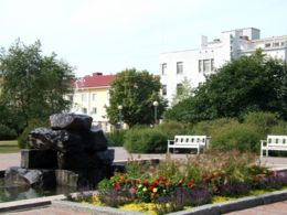 Mannerheim Park is a favourite hangout place for many.