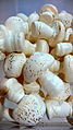 Many meringue mushrooms for decoration on a Bûche de Noël.jpg