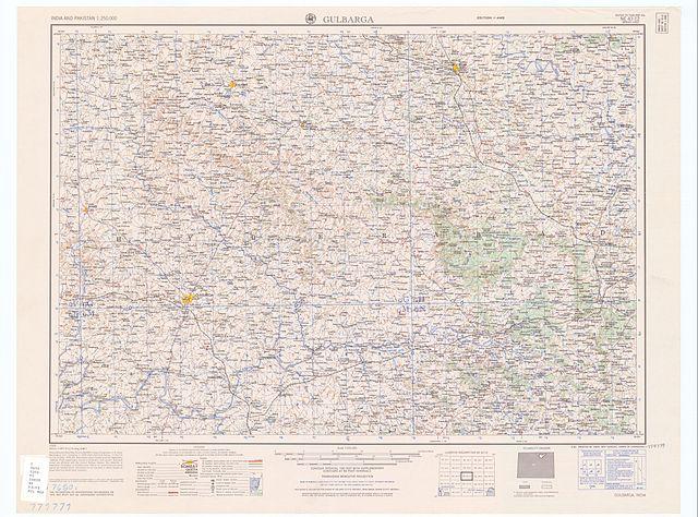 File:Map India and Pakistan 1-250,000 Tile NE 43-12 Gulbarga