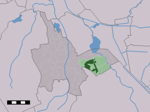 Zuidlaren - Image: Map NL Tynaarlo Zuidlaren