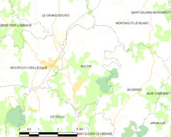 Map commune FR insee code 23011.png