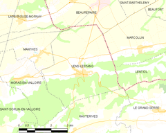 Map commune FR insee code 26162.png