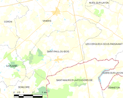Map commune FR insee code 49310.png