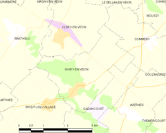 Map commune FR insee code 95295.png