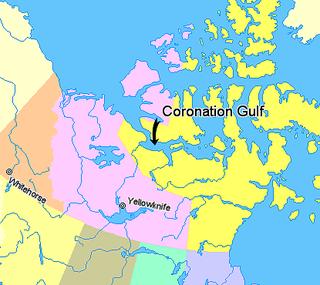 Coronation Gulf bay