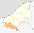 Map of Byala municipality (Ruse Province).png
