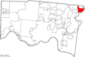Map of Hamilton County Ohio Highlighting Loveland City.png