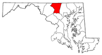 Map of Maryland highlighting Carroll County.png