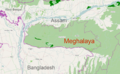 Map of Meghalaya India.png