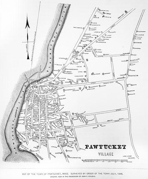 File:Map of Pawtucket, Mass July 1848.jpg
