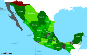 Territorial Evolution Of Mexico Wikipedia