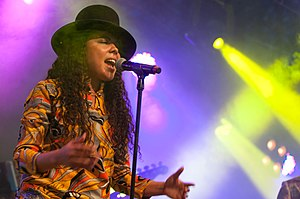 Mapei (musician) - Mapei at Way Out West in Gothenburg, Sweden, August 2014