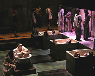 Marat/Sade - Marat/Sade production at the University of California, San Diego, 2005, directed by Stefan Novinski
