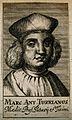 Marc Antonio della Torre (Turrianus). Line engraving, 1688. Wellcome V0005857.jpg