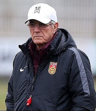 Marcello Lippi - Lippi at China training in 2017