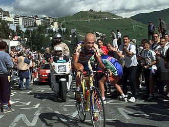 Climbing specialist - Marco Pantani was a climbing specialist
