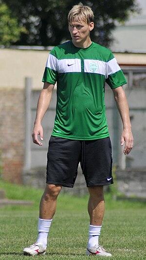 Marek Heinz - Heinz training with Ferencváros in 2010