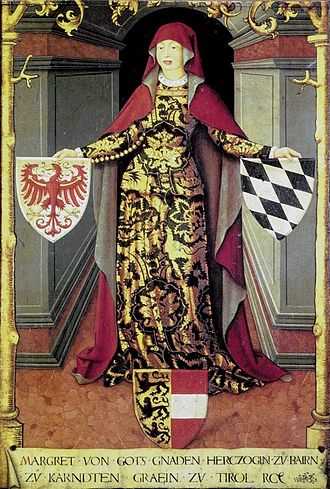 County of Tyrol - Margaret, Countess of Tyrol, heiress of the Meinhardin dynasty