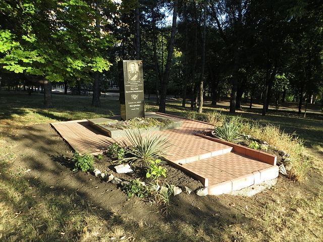Памятник Маргелову В. Ф. в Кишинёве