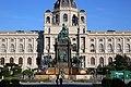 Maria-Theresien-Denkmal (Restaurierung) Kunsthistorisches Museum Wien 2013.jpg