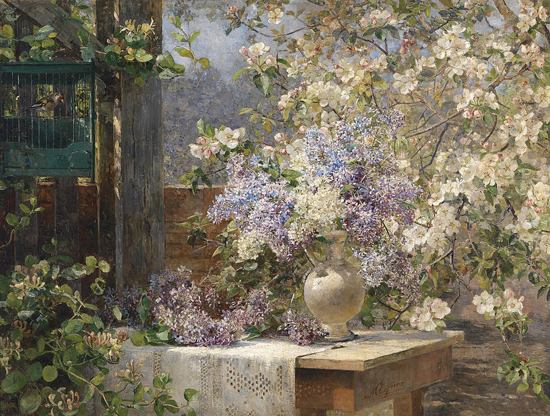 File:Marie Egner - In The Blossoming Bower.jpg