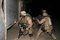 Marines raid Fallujah garage.jpg