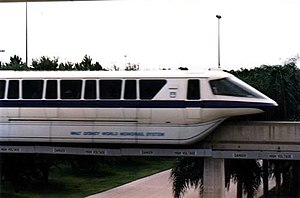 Mark IV monorail - Mark IV monorail at Walt Disney World.