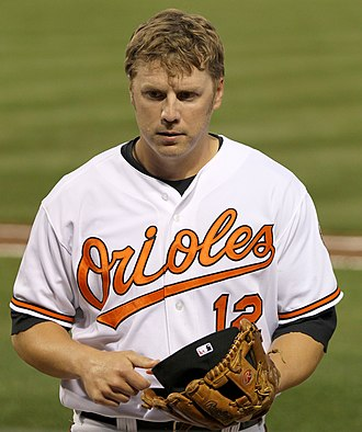 Mark Reynolds (baseball) - Reynolds during his tenure with the Baltimore Orioles in 2011