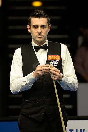 2015 World Snooker Championship - Defending champion Mark Selby was eliminated in the second round