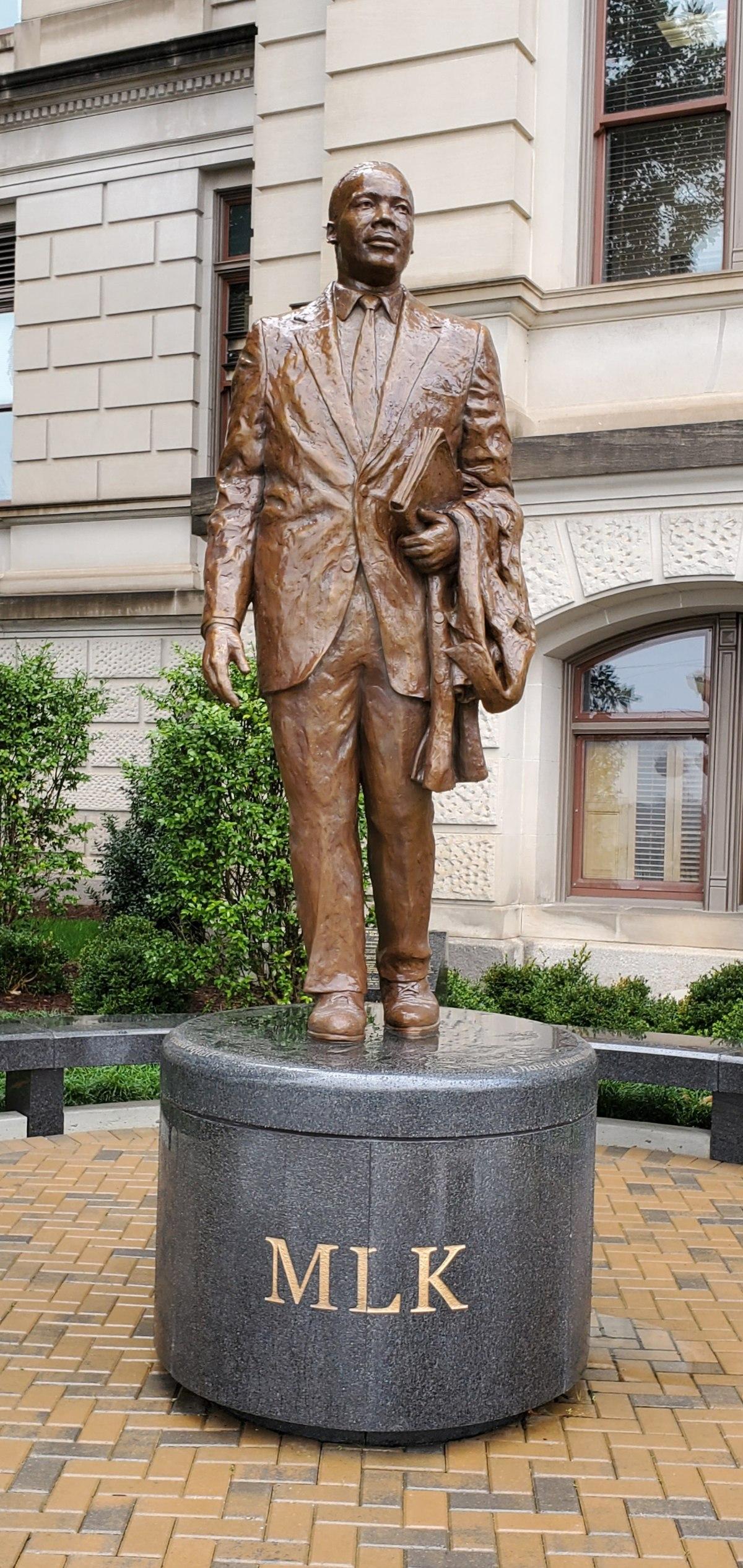 Statue of Martin Luther King Jr. (Atlanta) - Wikipedia