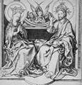 Martin Schongauer - Christus segnet Maria (L 18).jpg