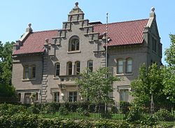 Mary Rogers Kimball house (Omaha, Nebraska) from SE 1.JPG