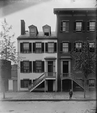 Assassination of Abraham Lincoln - The Surratt house